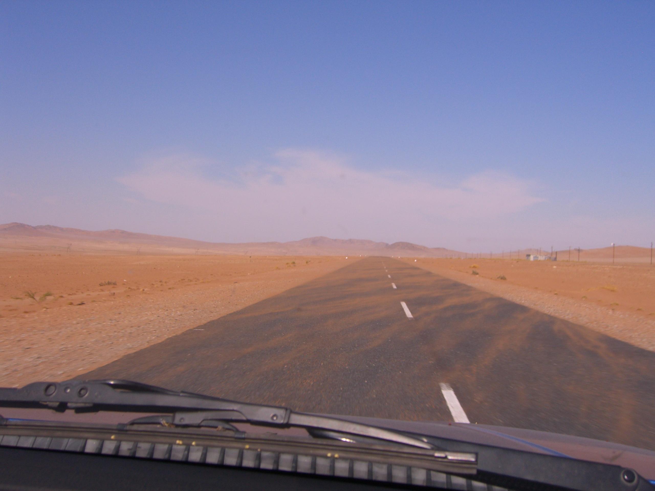 Fahrt durch Namibia